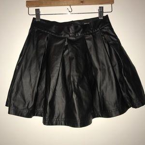 Nasty Gal goth cheerleader mini